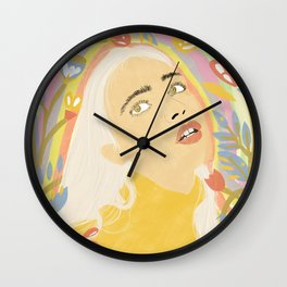 Dizzy Miss Lizzy Wall Clock