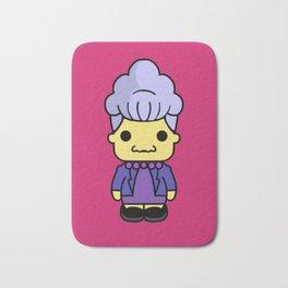 Agnes Skinner style pin y pon Bath Mat