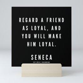 40   | Seneca Quotes | 190529 Mini Art Print