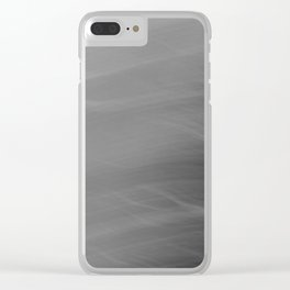 Motion afterimages #3 Clear iPhone Case