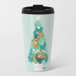 Tropical Xmas Travel Mug