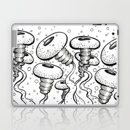 puffervescent anemones Laptop & iPad Skin