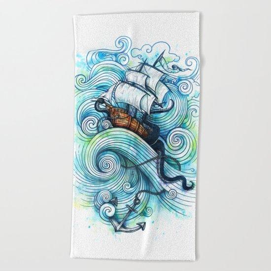 Long Journey Beach Towel