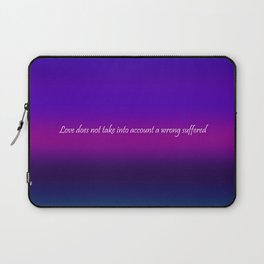 Re-Created Color Field with LOVE 7 by Robert S. Lee Laptop Sleeve