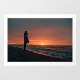 Good morning Sun Art Print