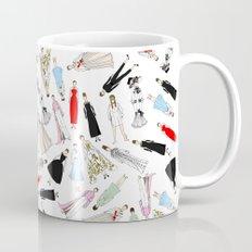 Audrey Hepburn Fashion (Scattered) Mug