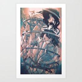 gemini cocoon Art Print