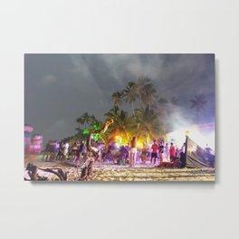 Alona Beach Party Metal Print