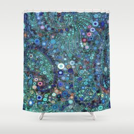 :: Ocean Fabric :: Shower Curtain