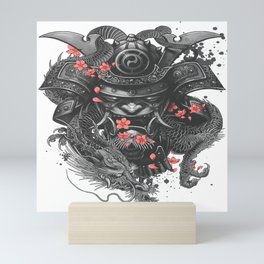 Sleeve tattoo Samurai Irezumi Mini Art Print