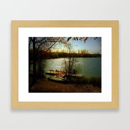 It Was A Good Day Framed Art Print