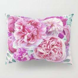 Beautiful soft pink peonies Pillow Sham