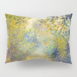 "Auguste Renoir  ""In the Woods"" Pillow Sham"