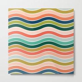 Stripes 8 Metal Print