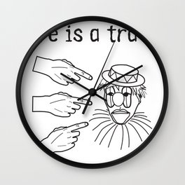 travesty Wall Clock