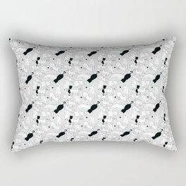 Postures de Chat Rectangular Pillow