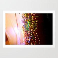 These lights Art Print