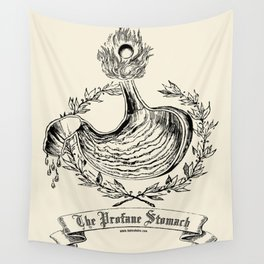 The Profane Stomach Wall Tapestry