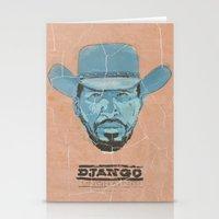 django Stationery Cards featuring Django by kjell