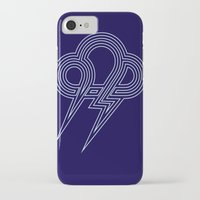 lightning iPhone & iPod Cases featuring Lightning by Heiko Hoos