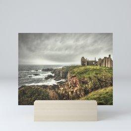Slains Castle Mini Art Print