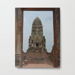Ayutthaya Metal Print