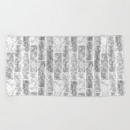 loft, light gray Beach Towel