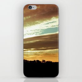 Dawn On The Side iPhone Skin