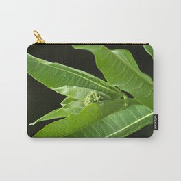 Green Milkweed Abstract Carry-All Pouch