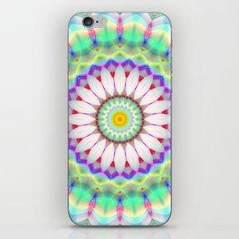 Mandala Patchwork lightblue iPhone Skin