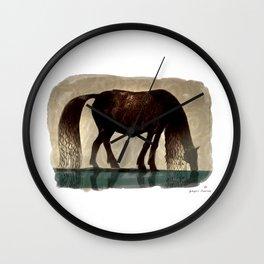 Horse (Kelpie) Wall Clock