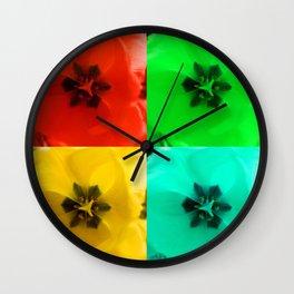 Tulip x6 Wall Clock