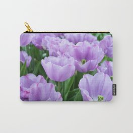 Mauve tulips Carry-All Pouch