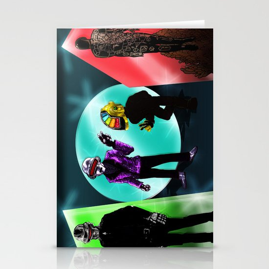 """""""Random Access Memories"""" [Chroma Version] by the CoS Art Dept Stationery Cards"""