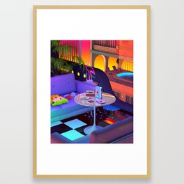 Mixtapes Memories Framed Art Print