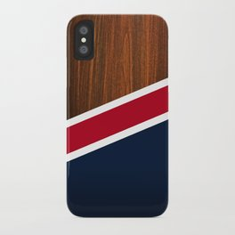 Wooden New England iPhone Case