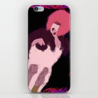 hedwig iPhone & iPod Skins featuring Hedwig on BWay by Lottie Smith