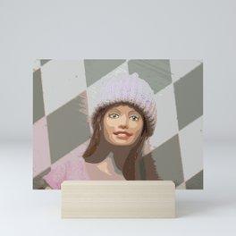 Harlequin Woman Mini Art Print