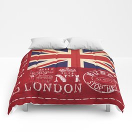 Union Jack Great Britain Flag Comforters