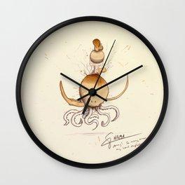 #coffeemonsters 491 Wall Clock
