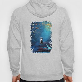 Tardis And The Doctor Lost In The Forest Hoody