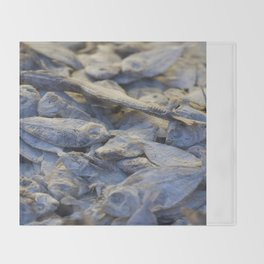 Dried Fish Throw Blanket