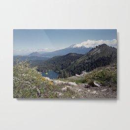 Mt Shasta Metal Print