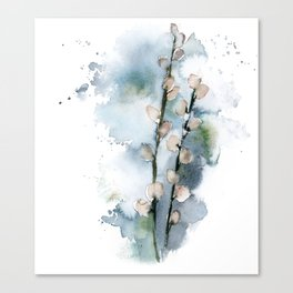 Spring signs Canvas Print