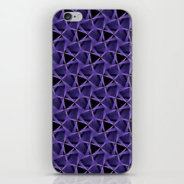 Purple Web iPhone Skin
