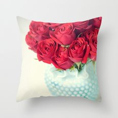 Be Merry and Bright Throw Pillow