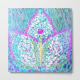 Colorful Lotus Metal Print