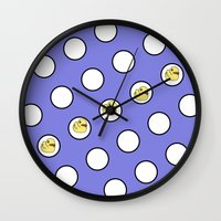 ducks Wall Clocks featuring Ducks by LoRo  Art & Pictures