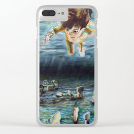 Young Knowledge Clear iPhone Case