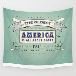 Sweaty Shirts Wall Tapestry